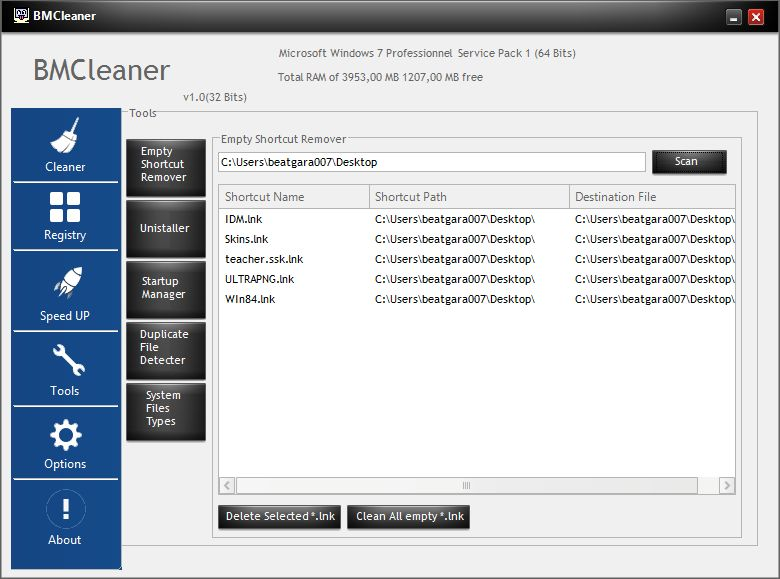 BMCleaner - Full Application Source Code Screenshot 12