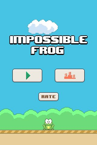Impossible Frog - Android Game Source Code Screenshot 1
