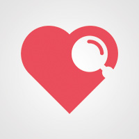 Love Search - Logo Template