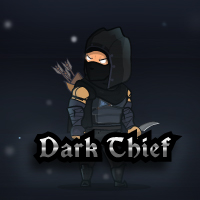Dark Thief Game Character Sprites