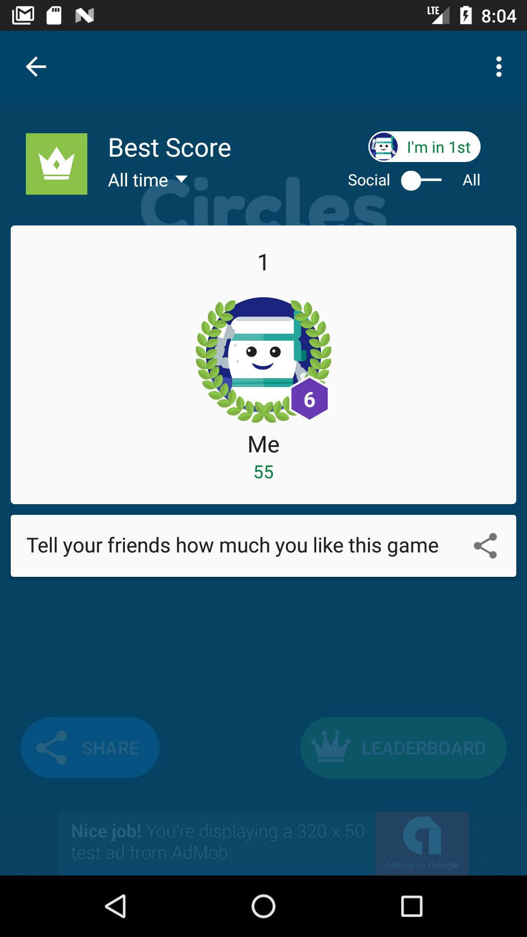 Circles Connect - Android Game Source Code Screenshot 2