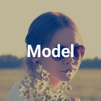 Model Profile Mobile - Mobile HTML Template
