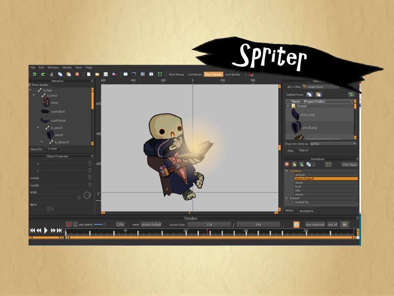 Skeleton Army Character Assets Screenshot 8