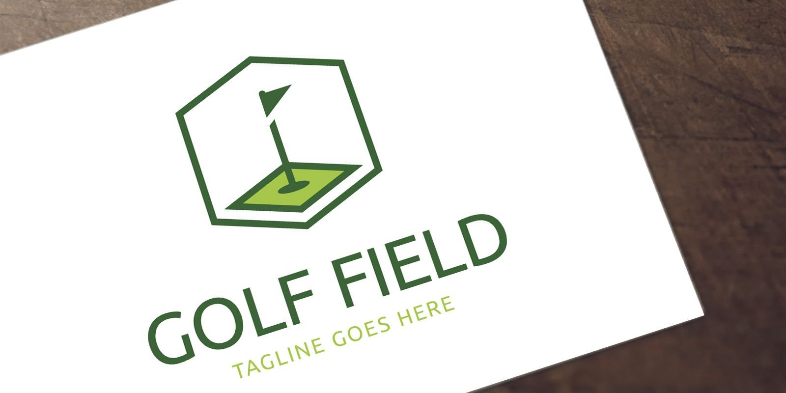 Golf Field - Logo Template Screenshot 1