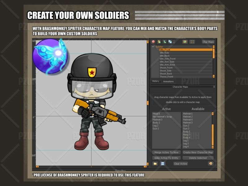 The Soldiers - Game Sprites Screenshot 4