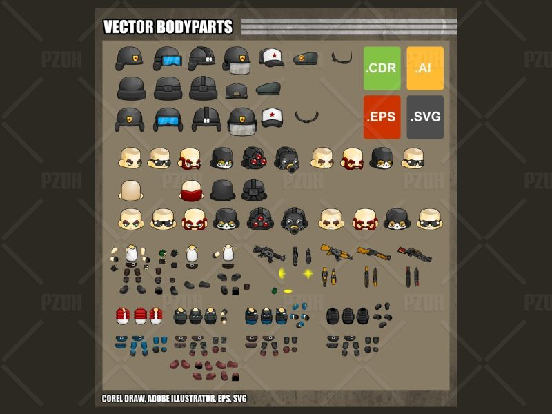 The Soldiers - Game Sprites Screenshot 5