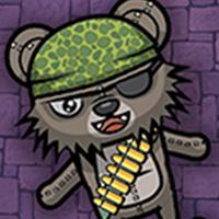 Zombie Bear Night Shooting Unity Project