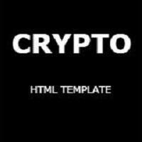 Crypto - Creative Portfolio Template