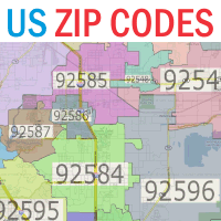US Zip Codes Database - PHP Script