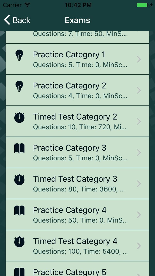 Quizionic 3 - Full Quiz App Template For Ionic 3 Screenshot 20