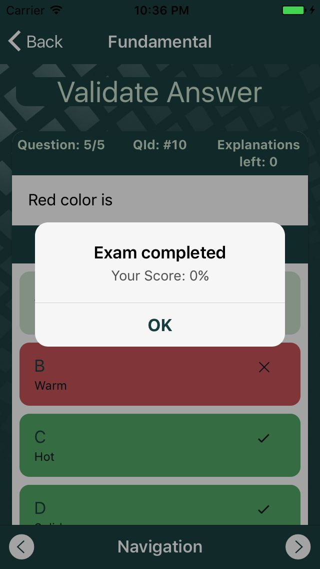 Quizionic 3 - Full Quiz App Template For Ionic 3 Screenshot 23