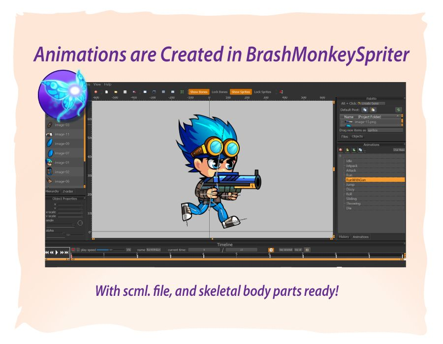 2D Game Character Sprites 9 Screenshot 4