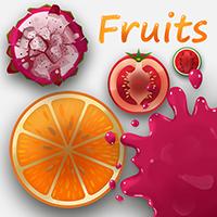 Fruits Sprite Assets For Games