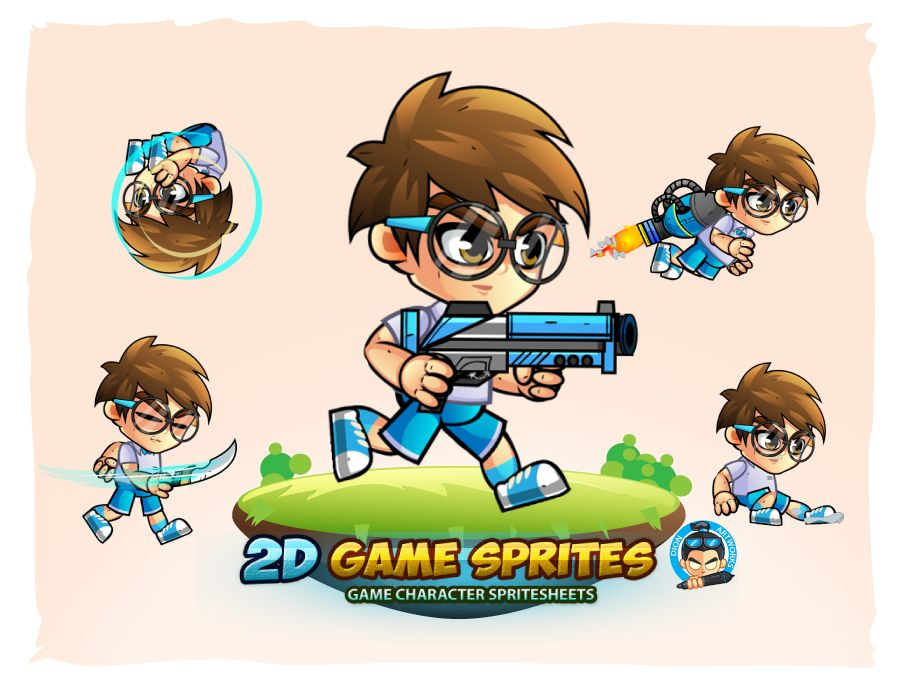 2D Game Character Sprites 11 Screenshot 1