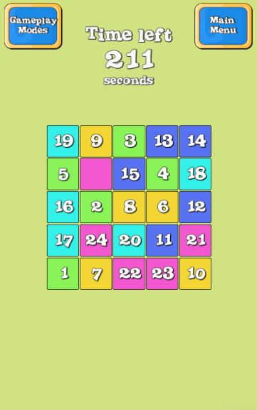 Slide Puzzle Unity3D Project Screenshot 4