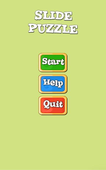 Slide Puzzle Unity3D Project Screenshot 5