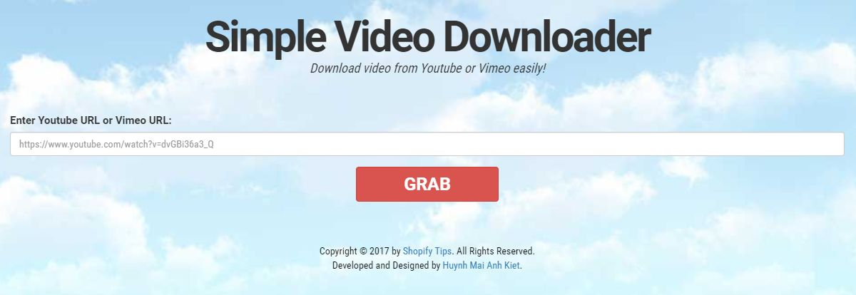 Youtube And Vimeo Video Downloader PHP Script Screenshot 1