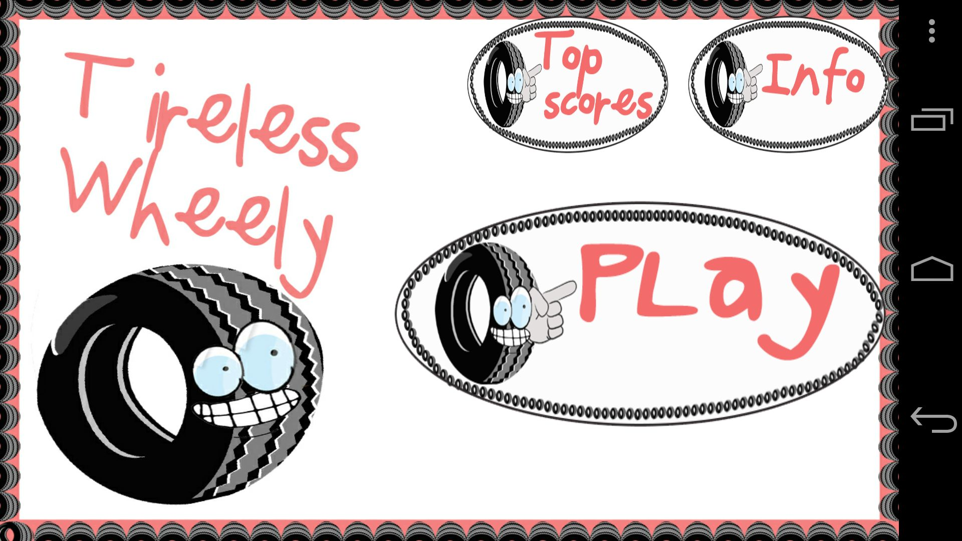 Tireless Wheely - Android Game Source Code Screenshot 1