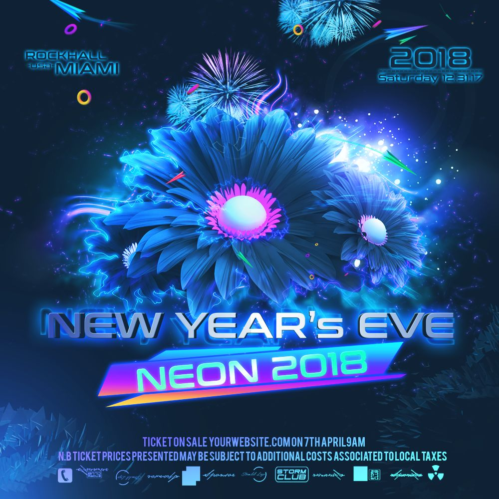 New Years Eve Web Banner Screenshot 1