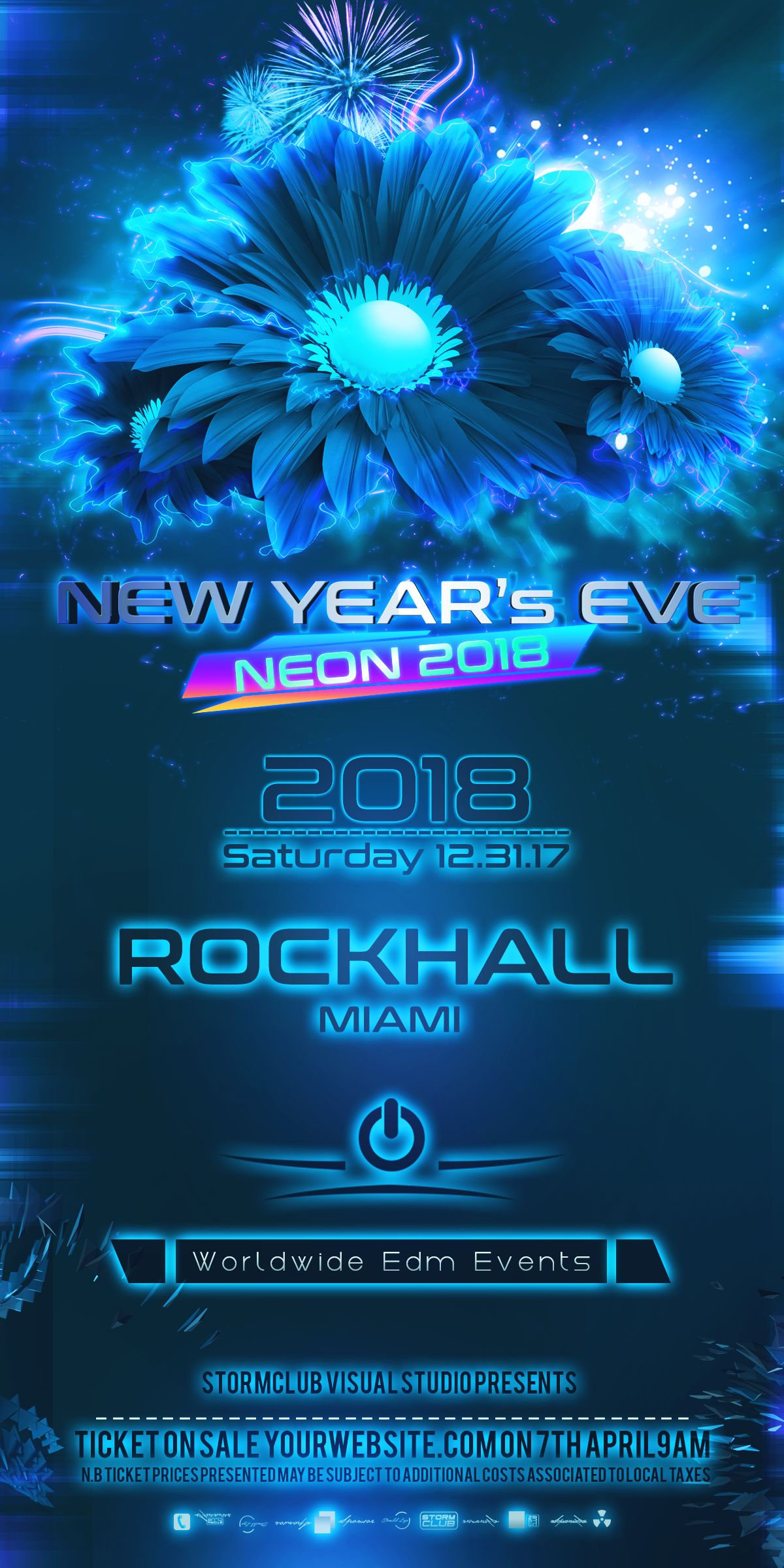 New Years Eve Web Banner Screenshot 2