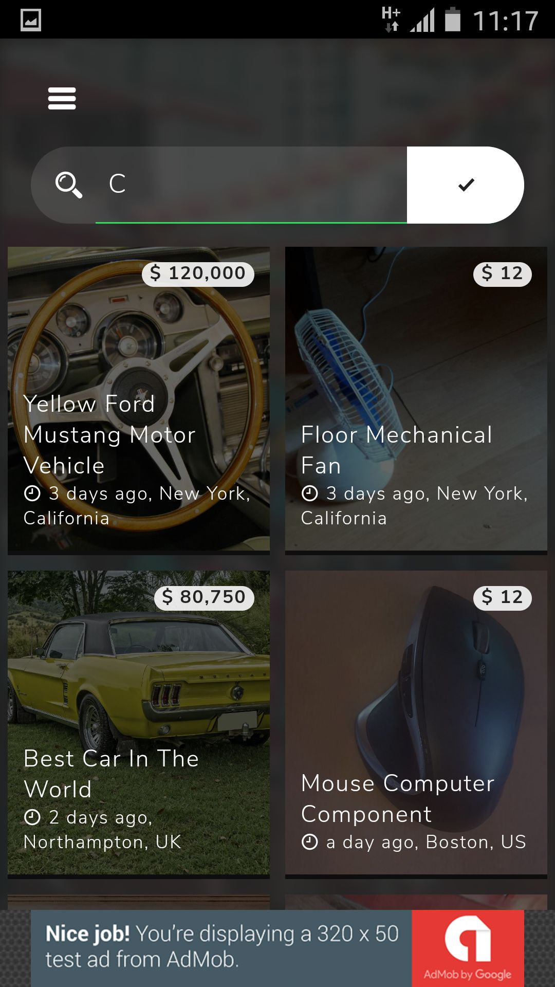 Classifieds -  Buy And Sell Marketplace Ionic App Screenshot 6