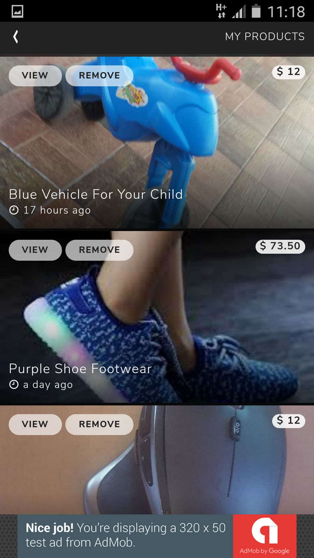 Classifieds -  Buy And Sell Marketplace Ionic App Screenshot 12