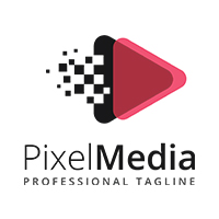 Pixel Media - Logo Template