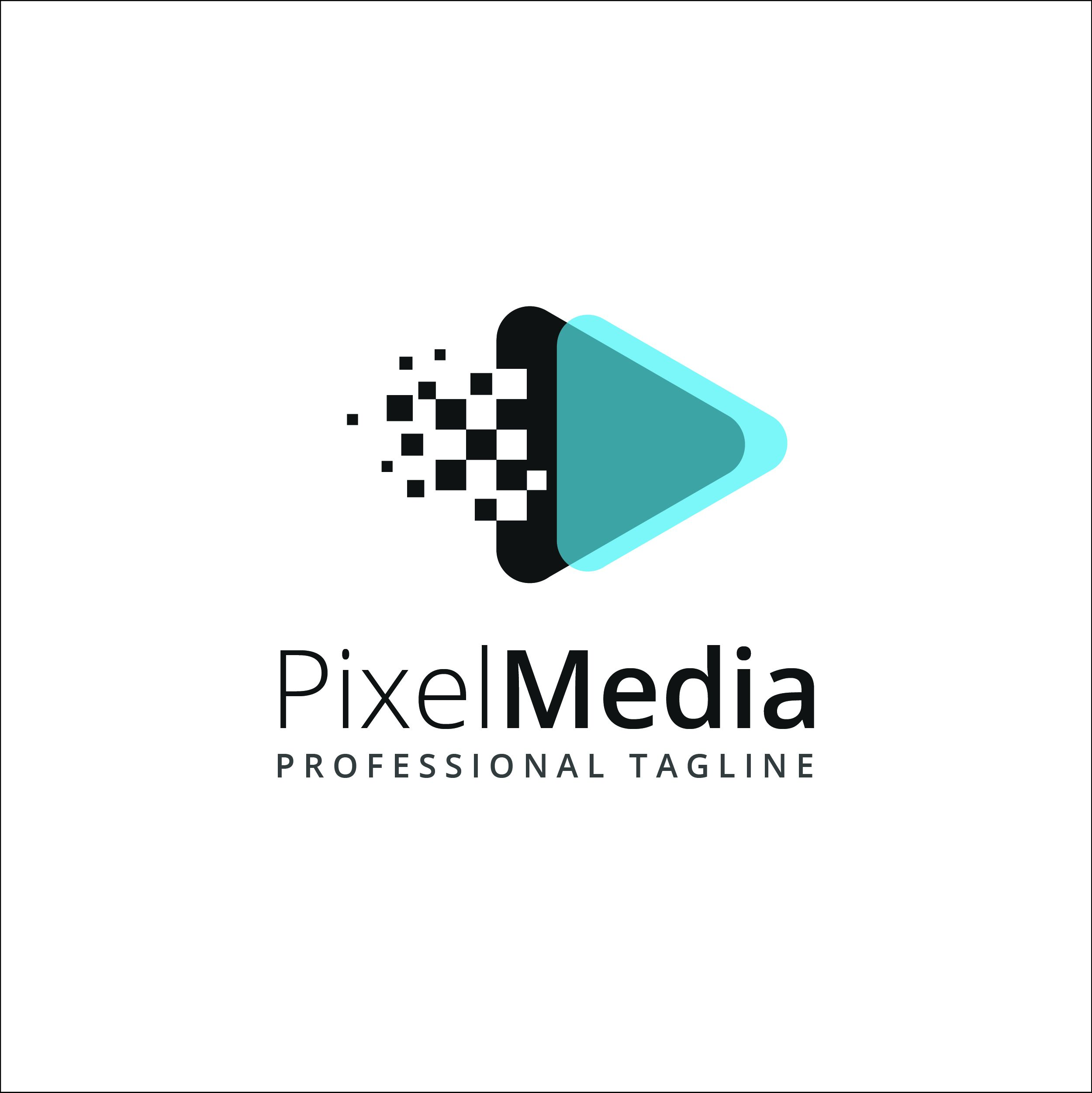 Pixel Media - Logo Template By Mmyra