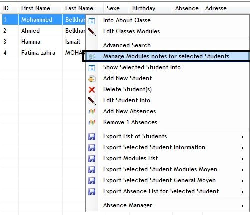 School System Manager Screenshot 24