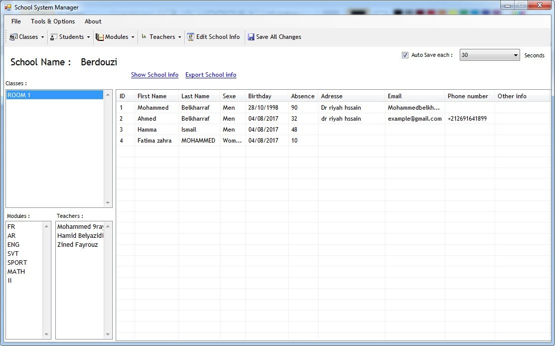 School System Manager Screenshot 34
