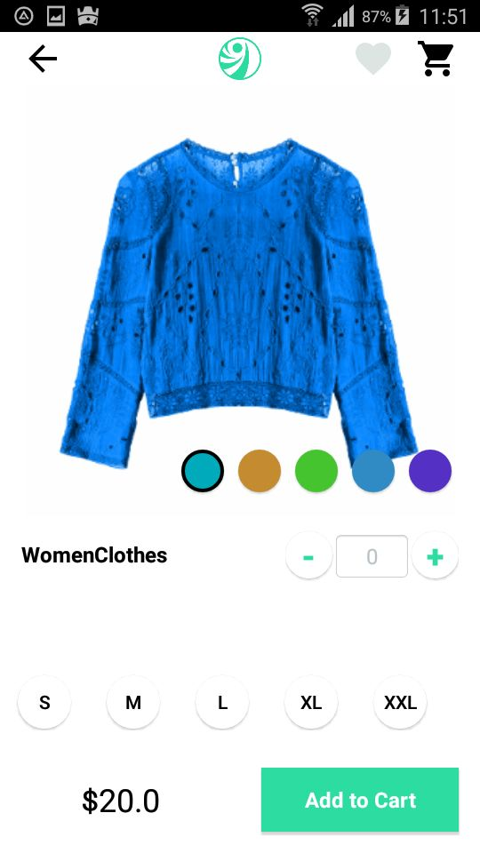 Ivory Shop - Android eCommerce App Screenshot 14