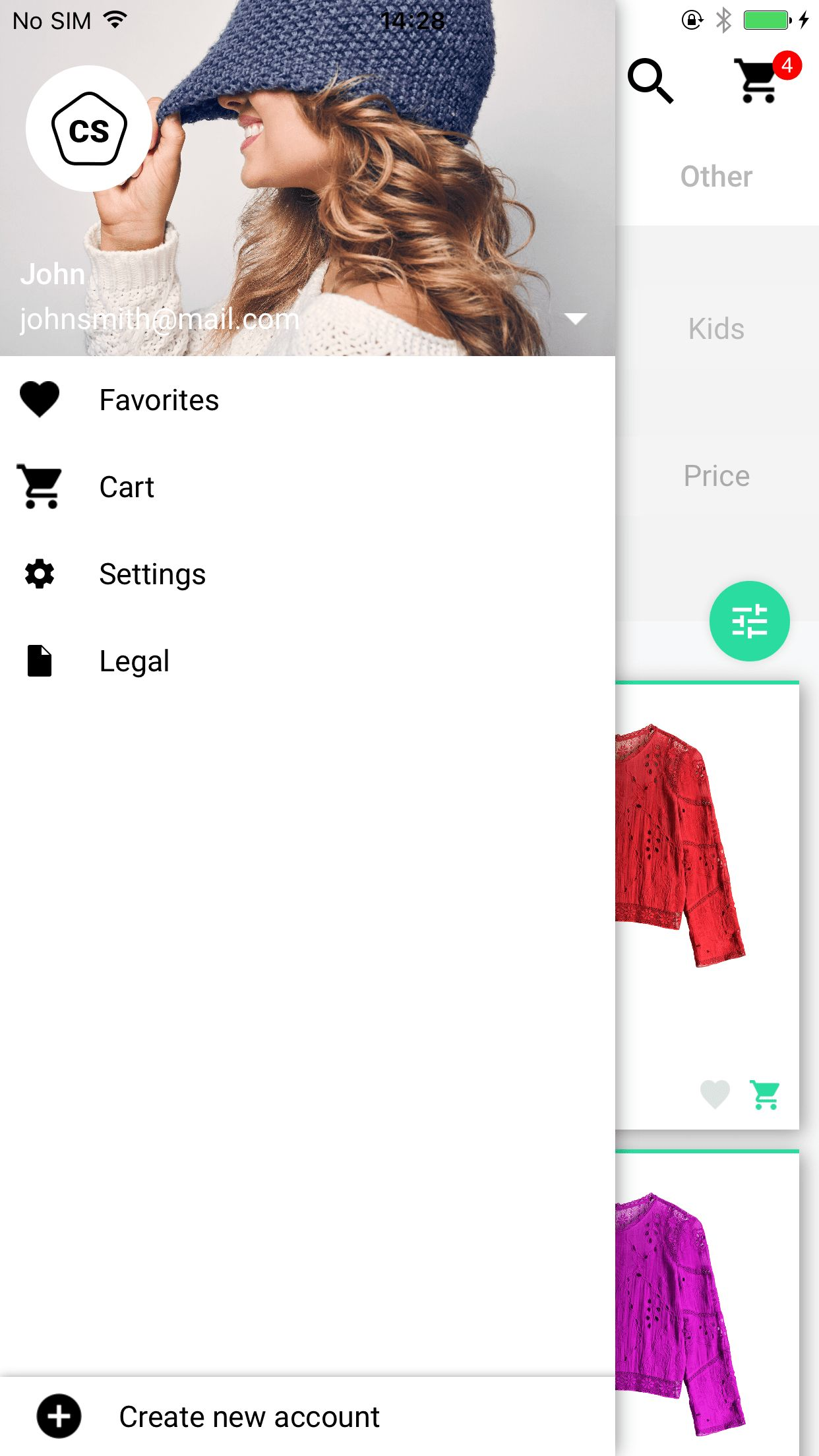 Ivory Shop - iOS eCommerce App Screenshot 6
