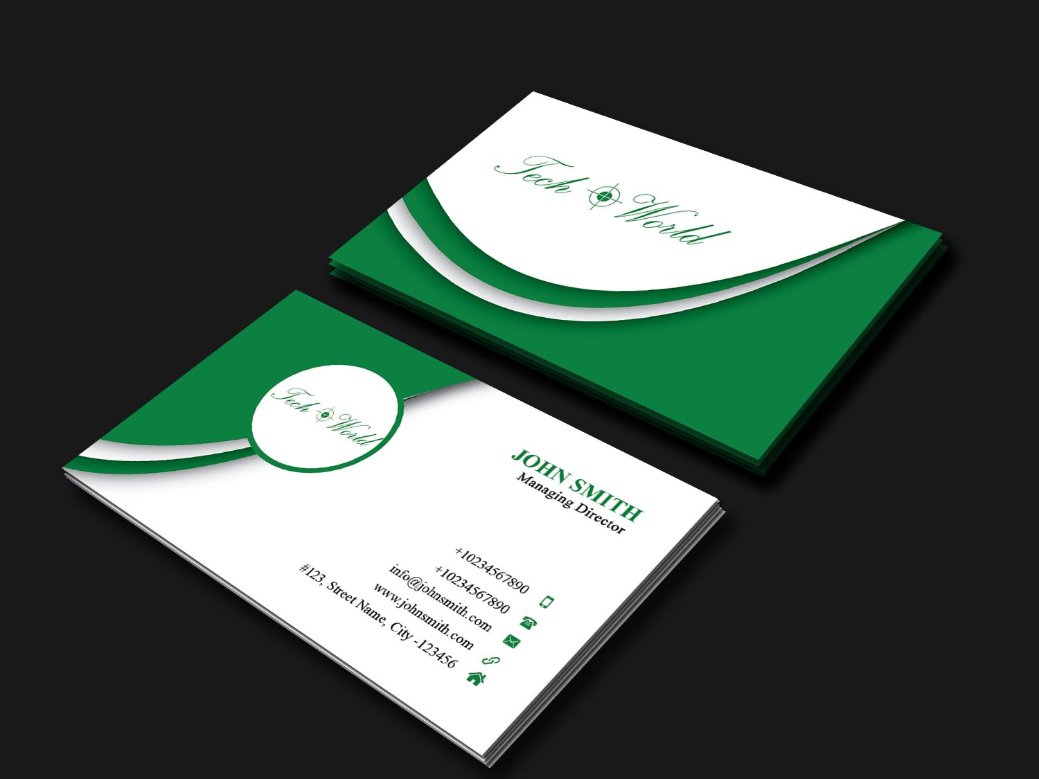 Business Card Template Screenshot 3