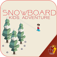 Snowboard Kid Adventure - Buildbox Game Template