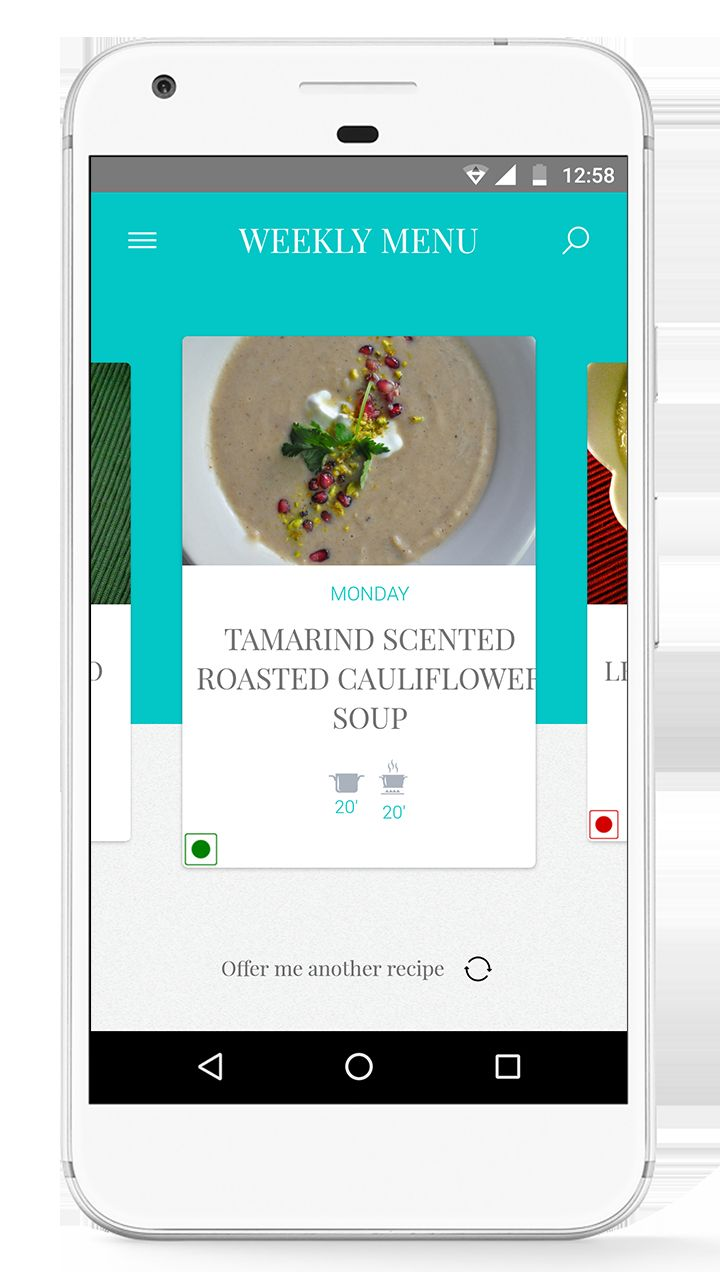 Foodie - Recipes Android App Source Code  Screenshot 1