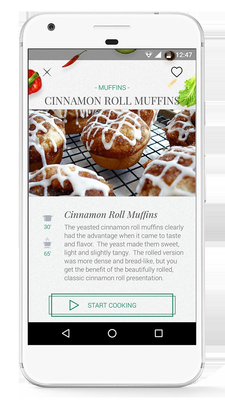 Foodie - Recipes Android App Source Code  Screenshot 2