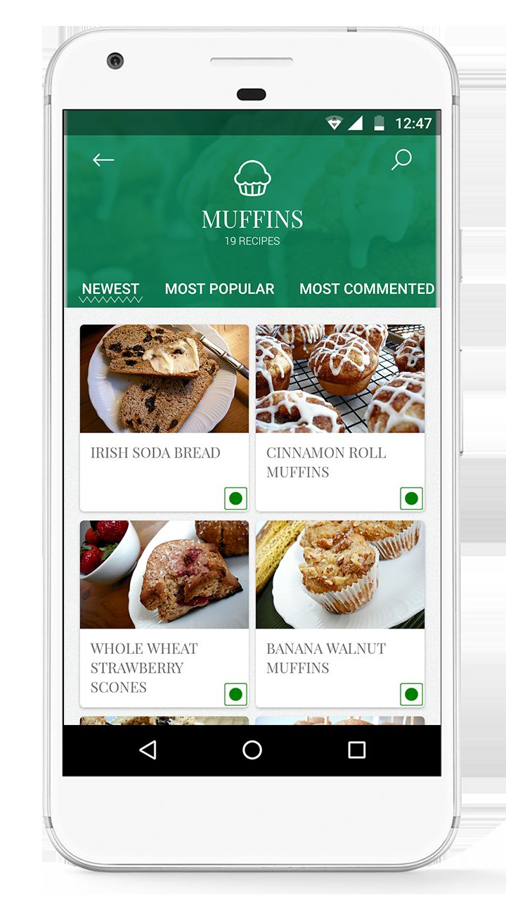 Foodie - Recipes Android App Source Code  Screenshot 3