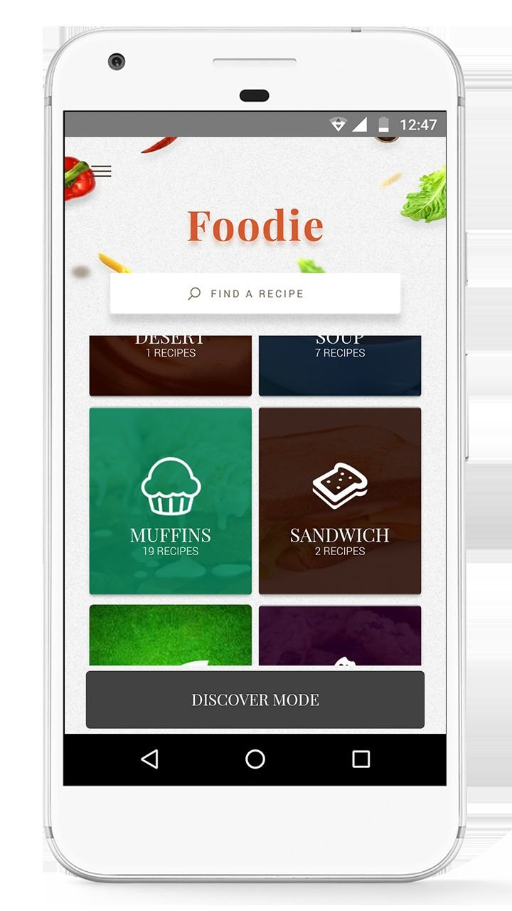 Foodie - Recipes Android App Source Code  Screenshot 4