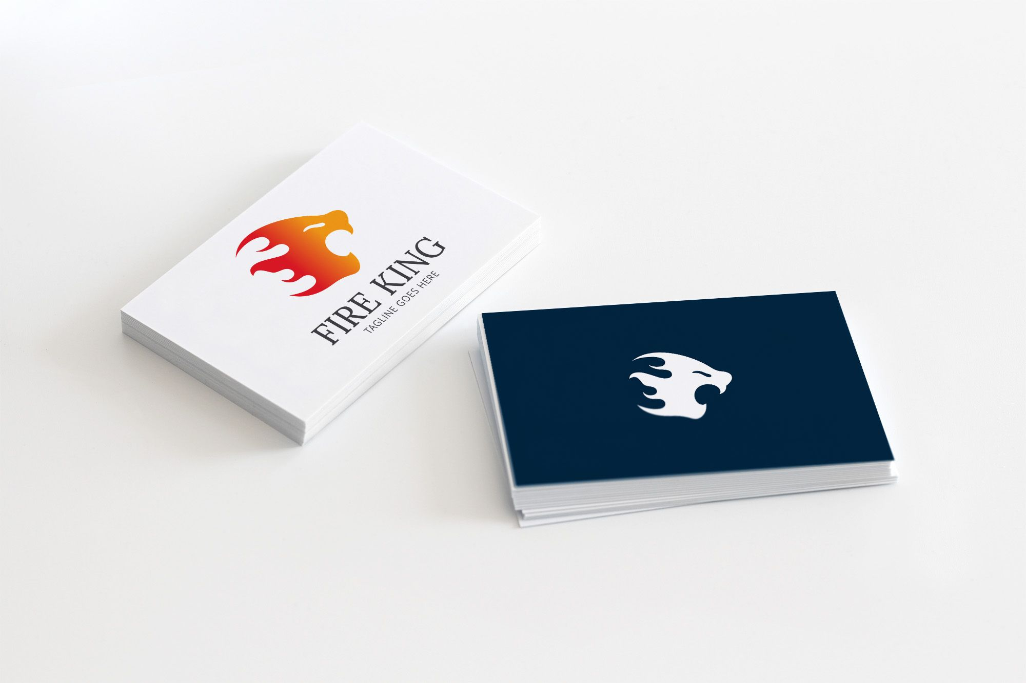 Fire King - Logo template Screenshot 1