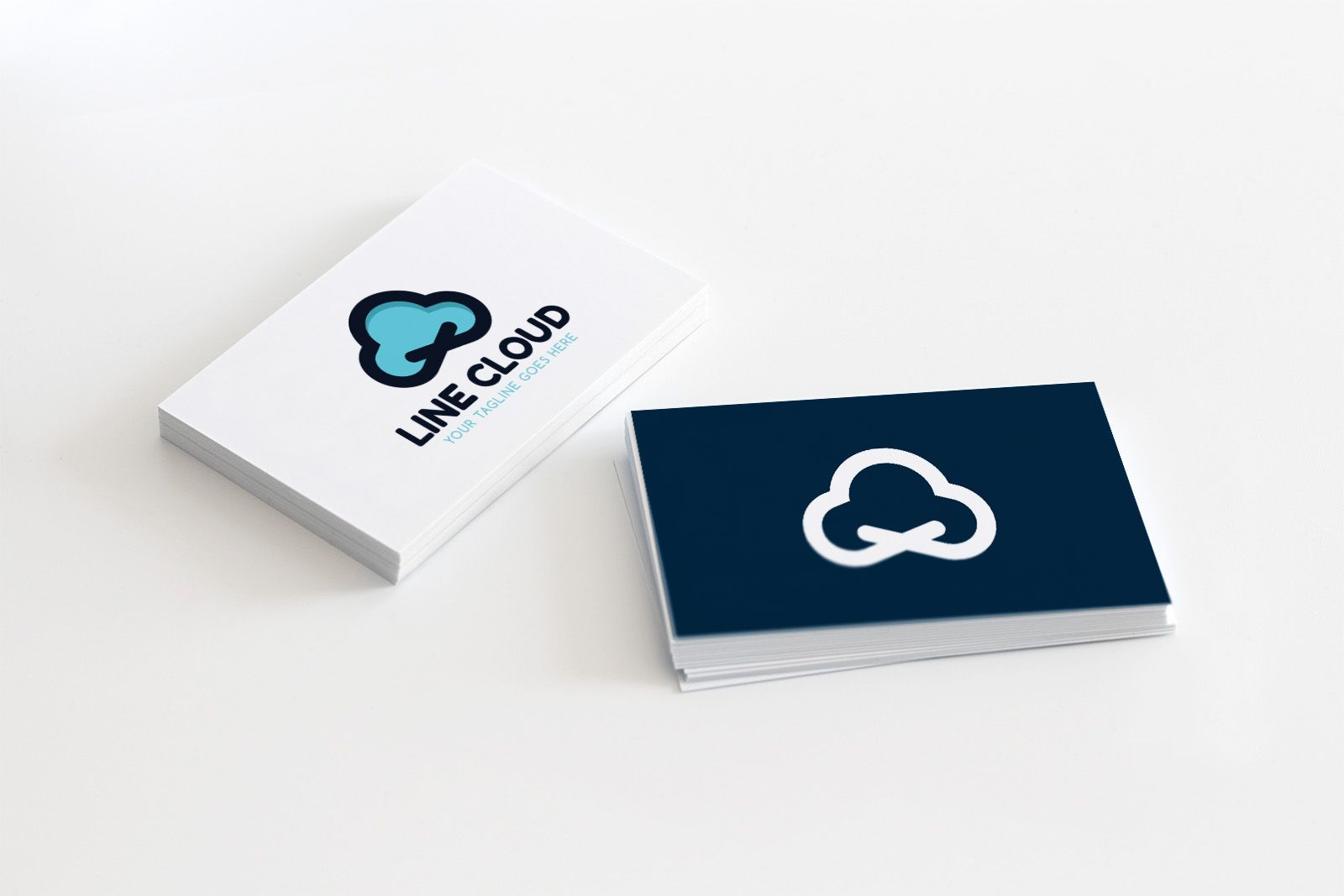 Line Cloud - Logo Template Screenshot 1