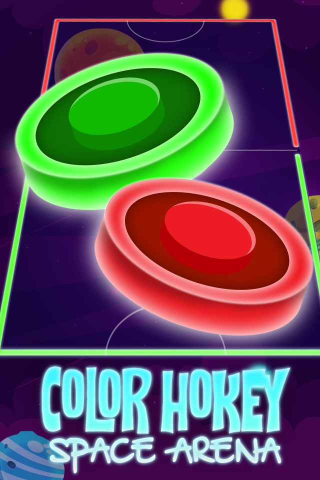 Color Hockey Space Arena - Complete Unity Project Screenshot 3