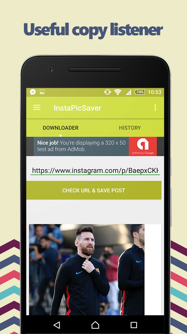 InstaDownloader - Instagram Downloader Screenshot 3