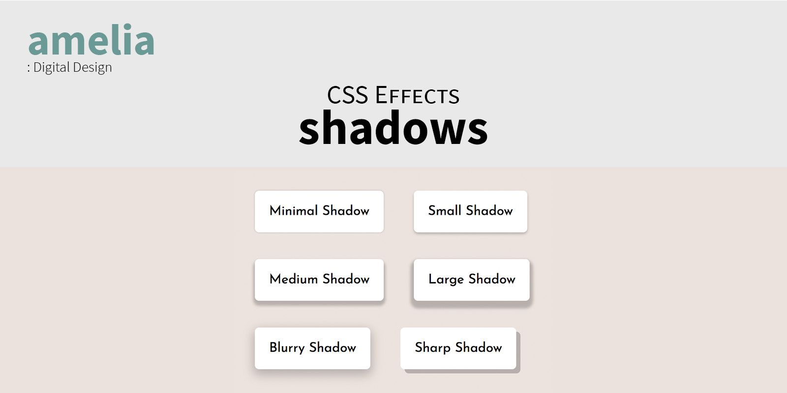 CSS Shadow Effects Screenshot 3