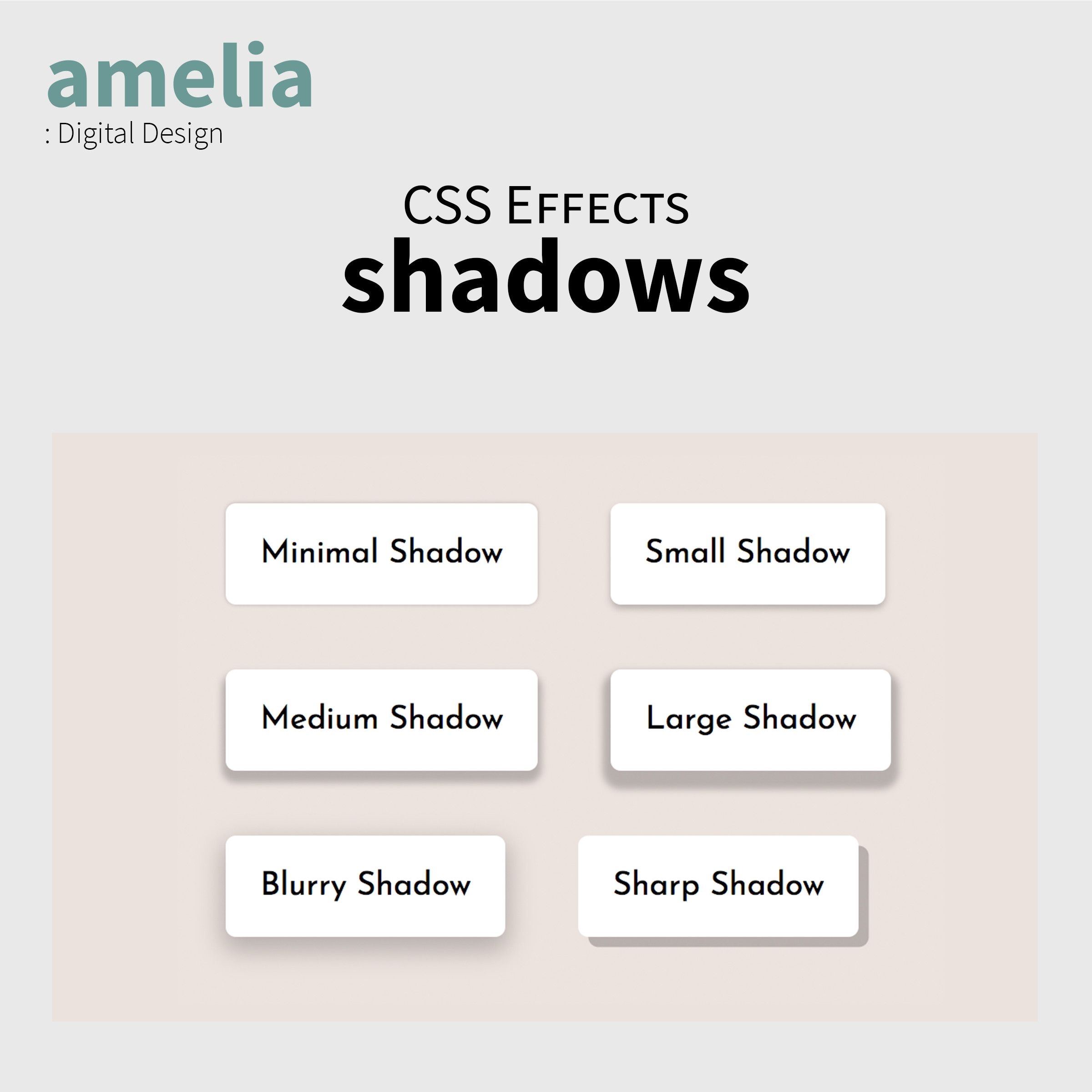 CSS Shadow Effects Screenshot 5
