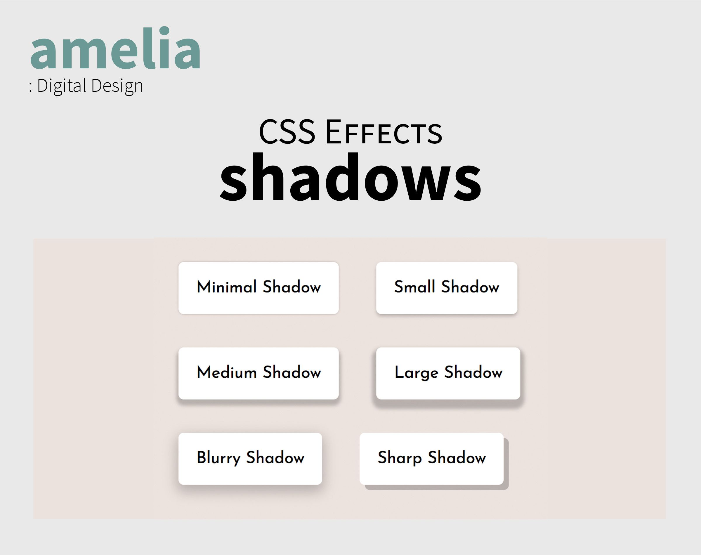 CSS Shadow Effects Screenshot 6