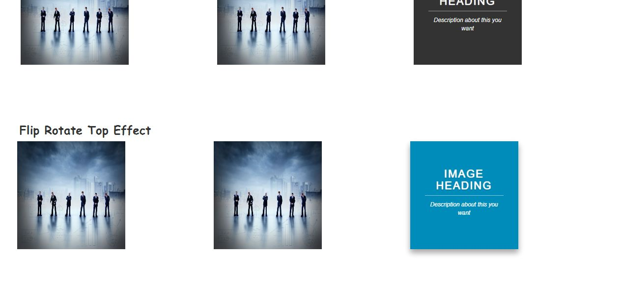 CSS3 Image Hover Effects Screenshot 2