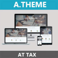 AT Tax - Tax Joomla Template