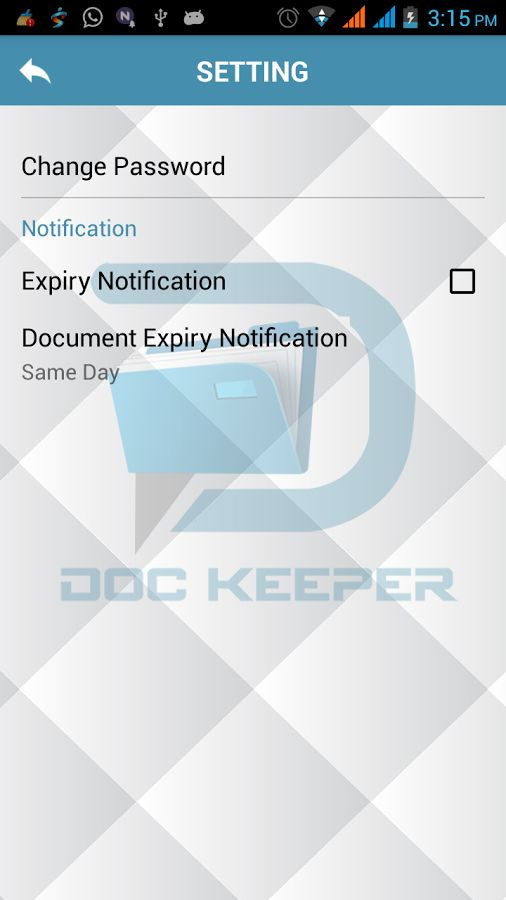 Doc Keeper - Android Source Code Screenshot 3