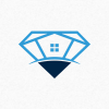diamond-house-logo-template