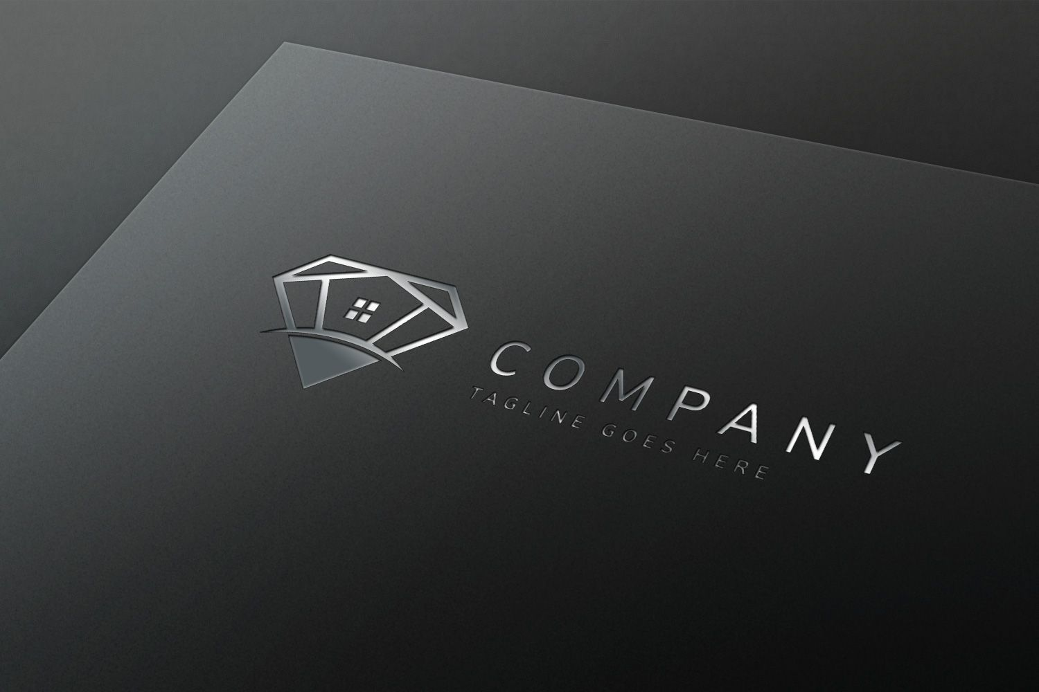 Diamond House - Logo Template Screenshot 1